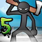 Anger of stick 5 : zombie v1.1.54 APK Download For Android