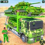 Army Vehicle Transporter Truck Simulator:Army Game v1.11 APK For Android