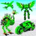 Download Flying Ostrich Air Jet Robot Car Game v APK For Android