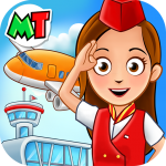 Download My Town : Airport. Free Airplane Games for kids v1.03 APK Latest Version