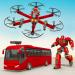 Free Download Drone Bus Robot Car Game – Transforming Robot Game v1.1.4 APK