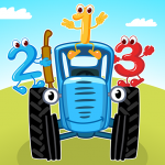 The Blue Tractor: Fun Learning Games for Toddlers v1.2.0 APK Download New Version