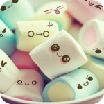 Cute Marshmallow cartoon Theme for android free v3.9.10 APK For Android