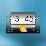 Free Download 3D Flip Clock & Weather v APK